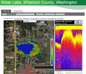 Water quality monitoring GPS picture
